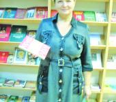 Заведующая библиотеки Снегирей