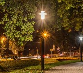 Волоколамск-освещение-парк