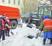 Uborka _snega