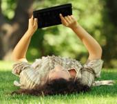 iPad-in-park