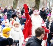 Сокольская и Дед Мороз