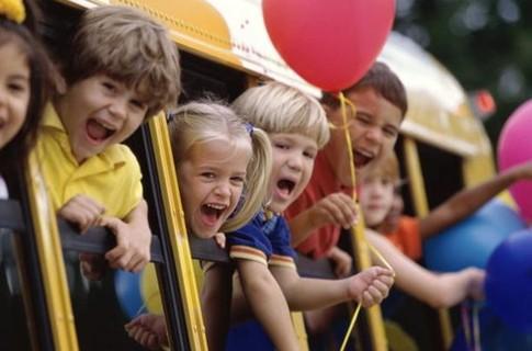 дети автобус