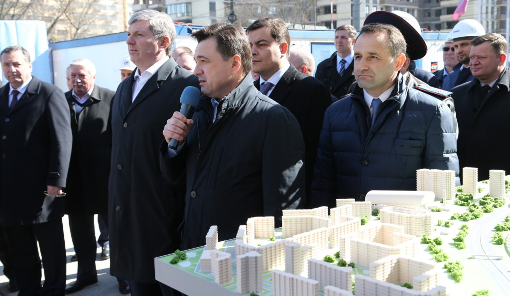 Красногорск развязка Воробьев Сапунов