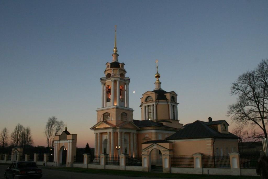 Руза Храм Комлево