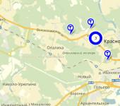 Красногорск синие точки