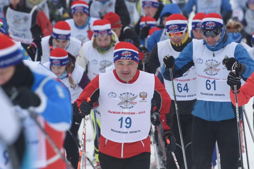 Химки лыжи Воробьев 2