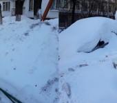 коллаж снег 2018 март