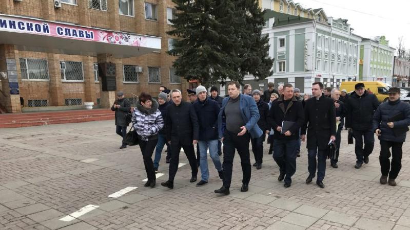 Волоколамск Пестов совещание