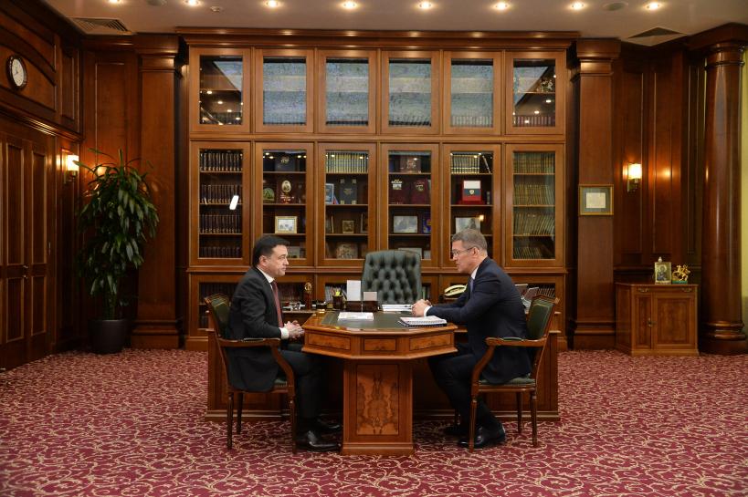 Воробьев Хабиров встреча