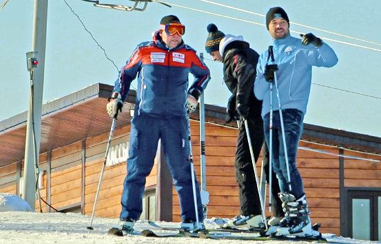 Черневская горка лыжи