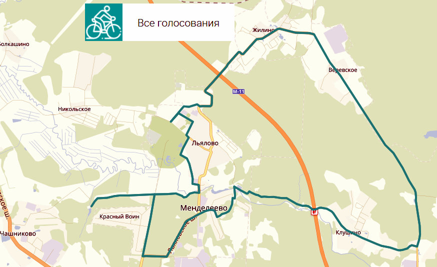 велодорожка Солнечногорск