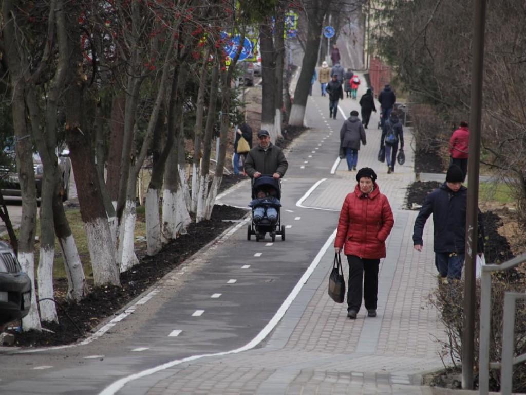 Клин пешеходный маршрут