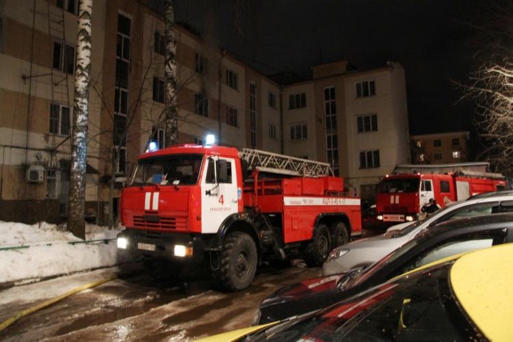 пожар Красногорск