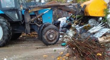 истра завалы мусор